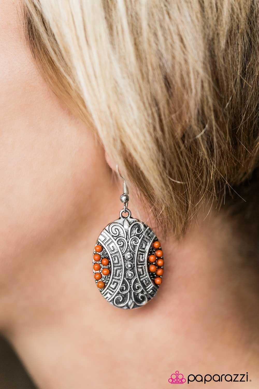 Paparazzi Accessories Wherever I Mayan Roam Orange