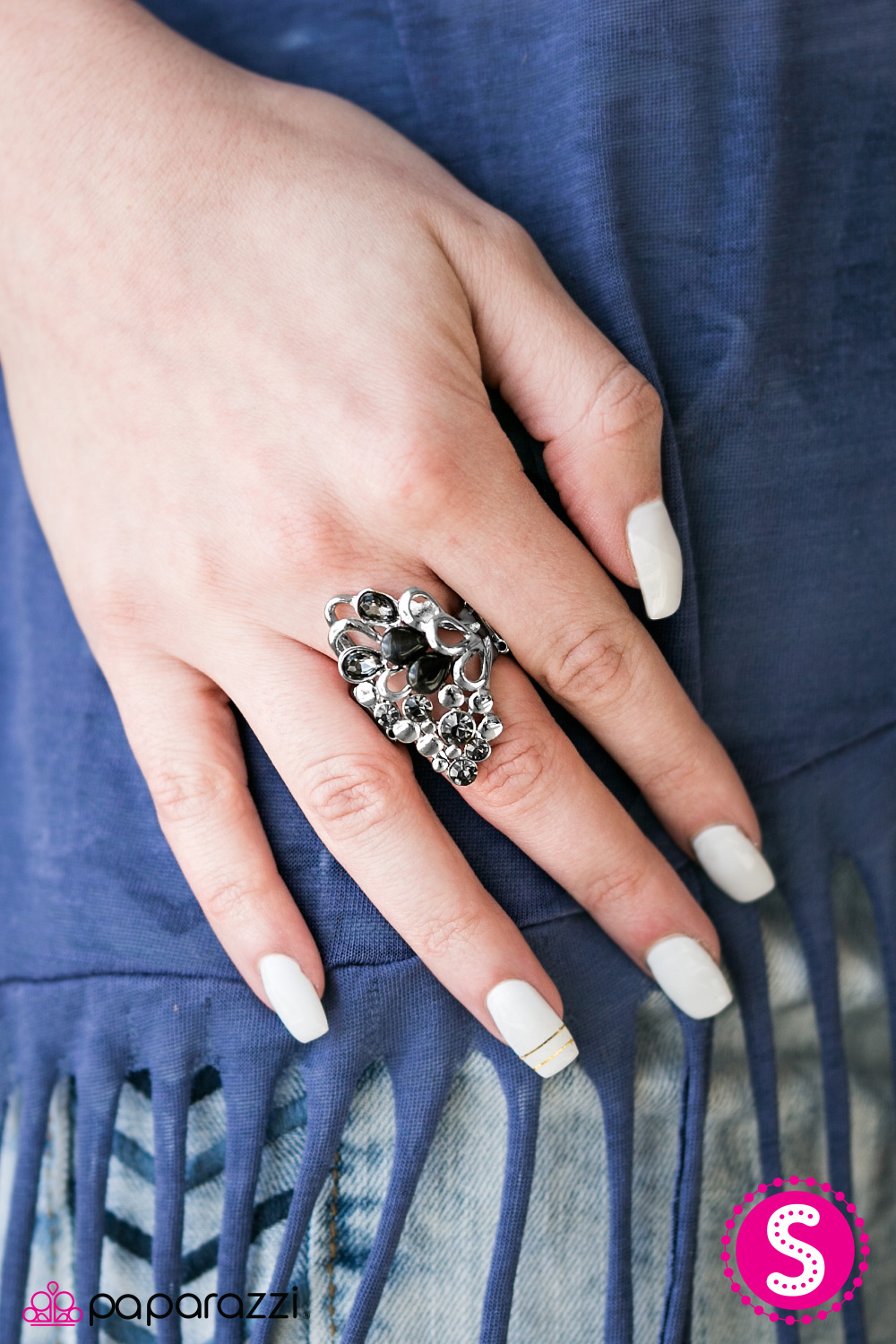 Black Paparazzi Jewelry Ring