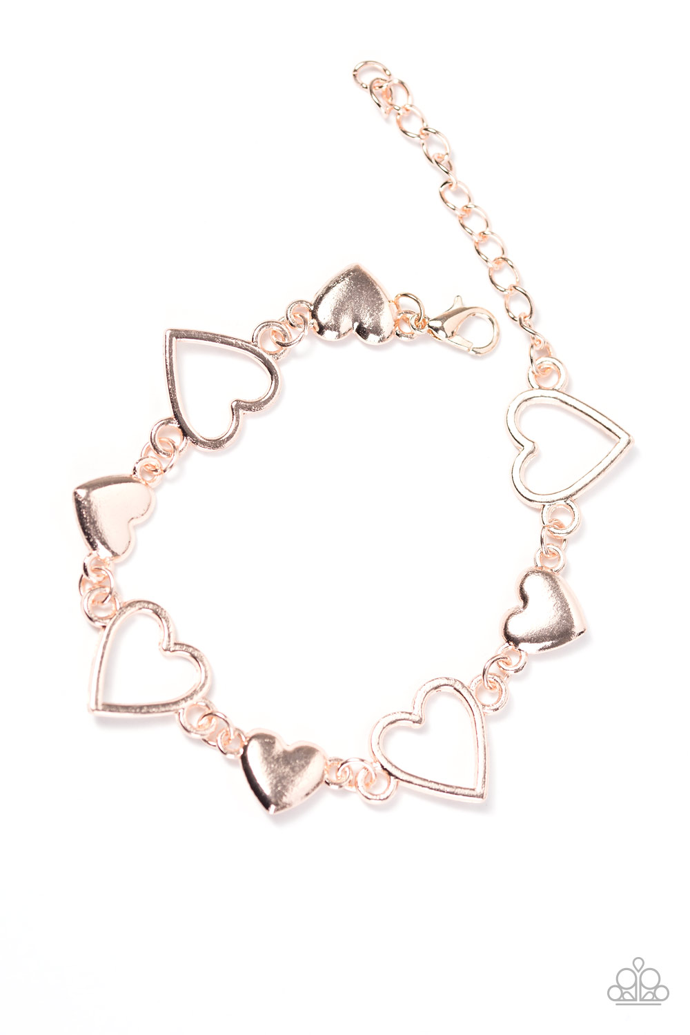 Paparazzi Accessories Heart To Handle Rose Gold