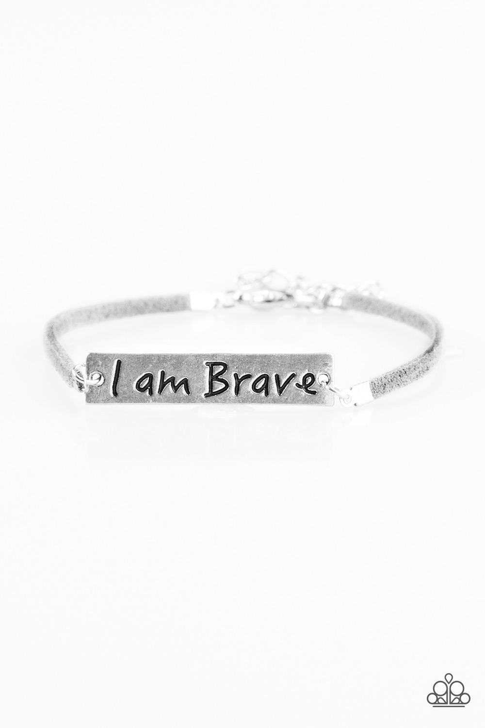 Shop >> Paparazzi Accessories: Brave Spirit - Silver
