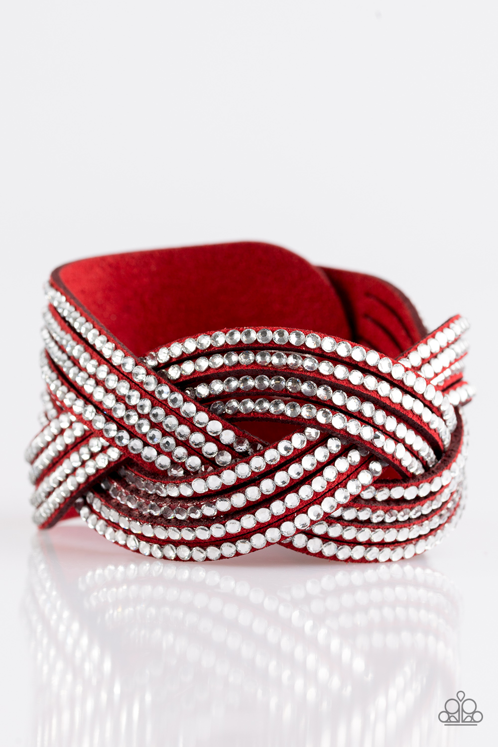 paparazzi accessories big city shimmer red