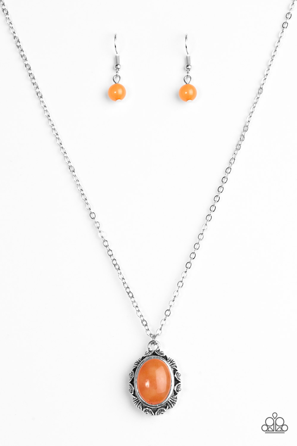 About >> Paparazzi Accessories: Stone Simplicity - Orange