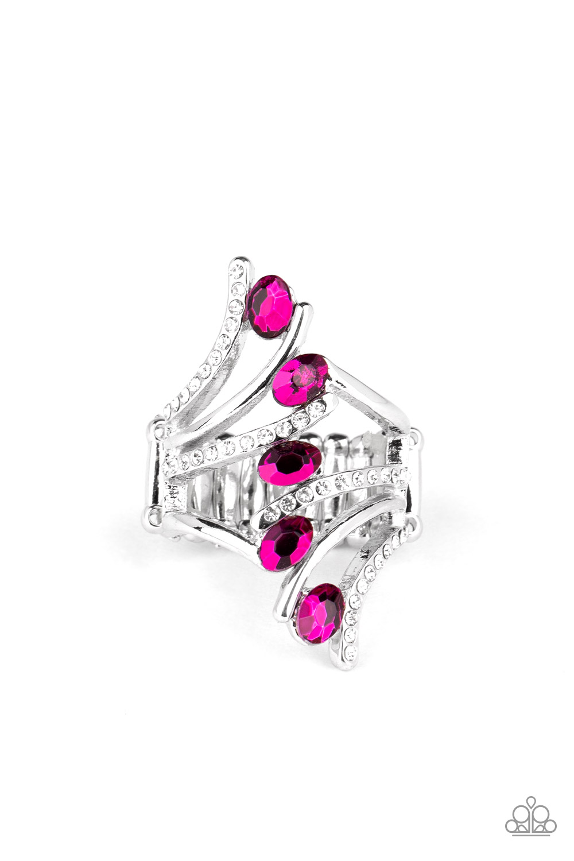 Majestical pink glowing ring!