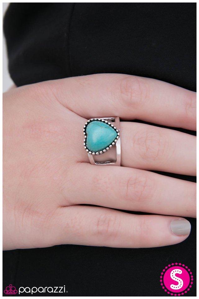 Paparazzi Turquoise Ring