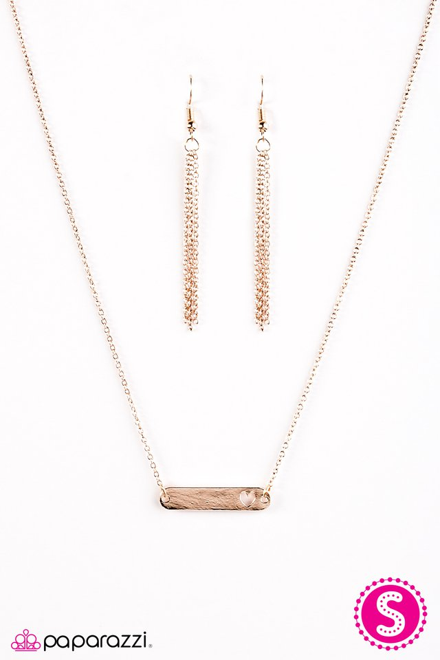 Paparazzi Accessories Fill Your Heart With Love Rose Gold