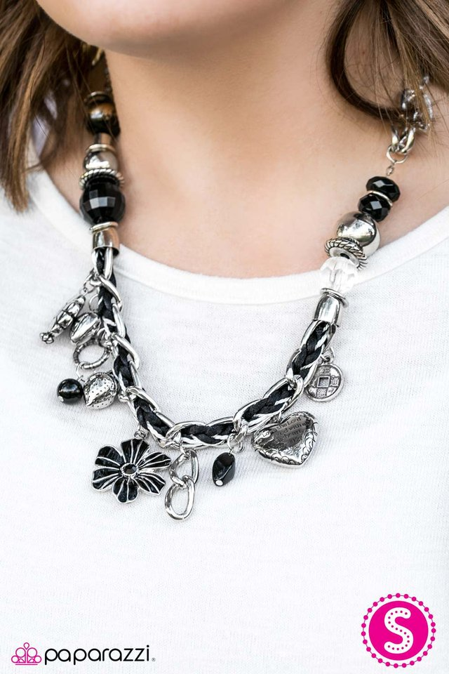 Paparazzi Accessories Charmed I Am Sure Black