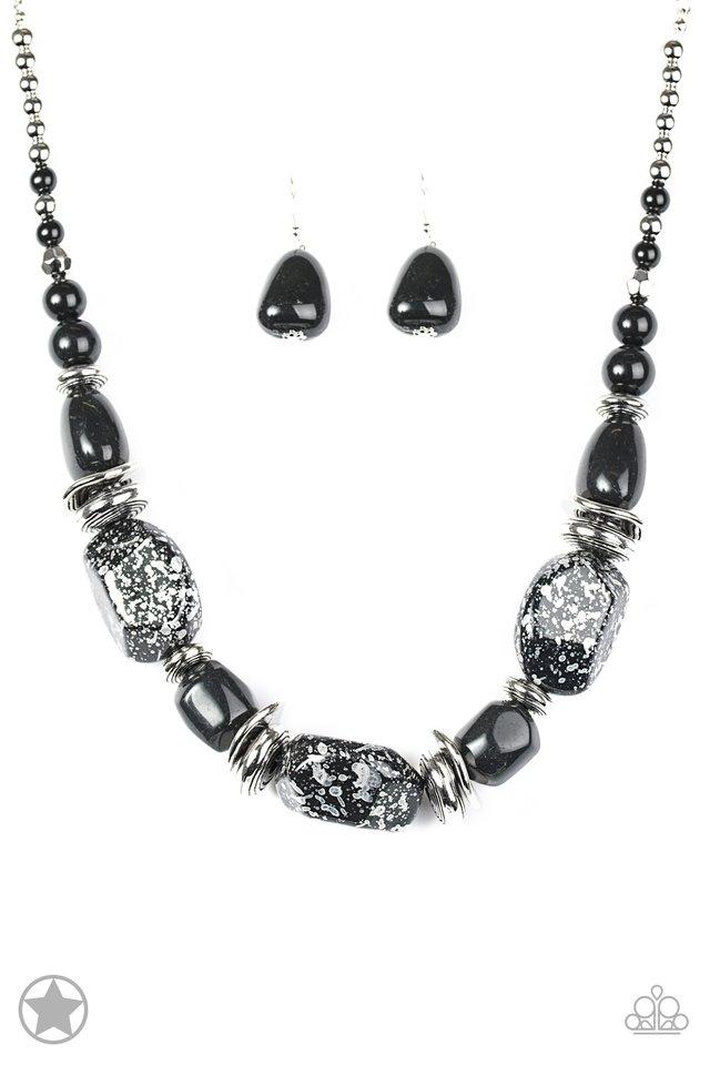 c79ef2be9fa3a Paparazzi Accessories  In Good Glazes - Black