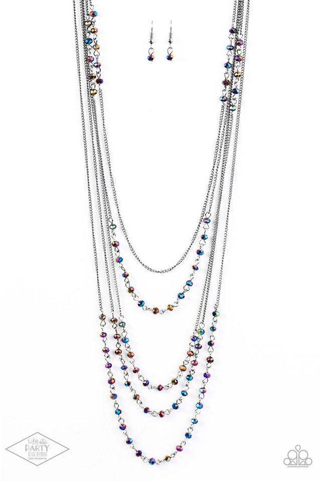Glitter Go-Getter - Paparazzi Necklace Image