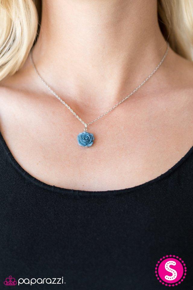 412d8c47 Paparazzi Accessories: Summer Rose - Blue