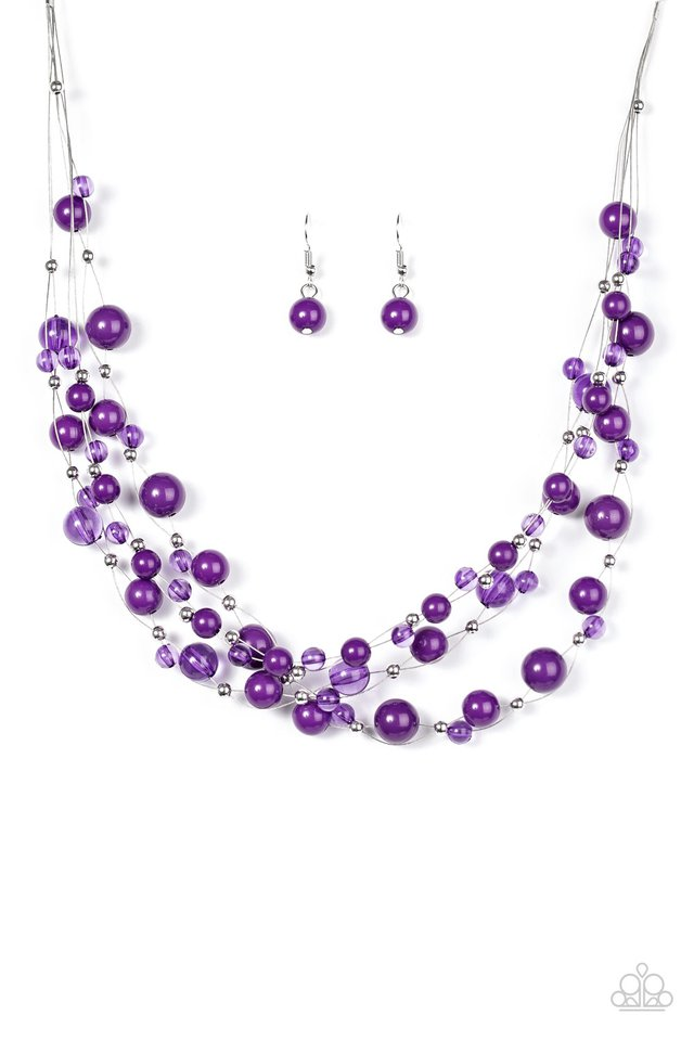 Paparazzi Accessories: Set The World On WIRE - Purple