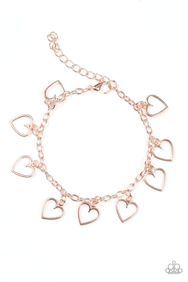 Paparazzi Accessories Best Of My Love Rose Gold