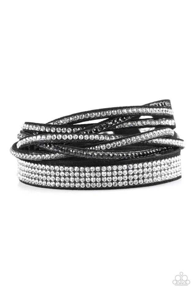 Taking Care Of Business - Black - Paparazzi Bracelet Image