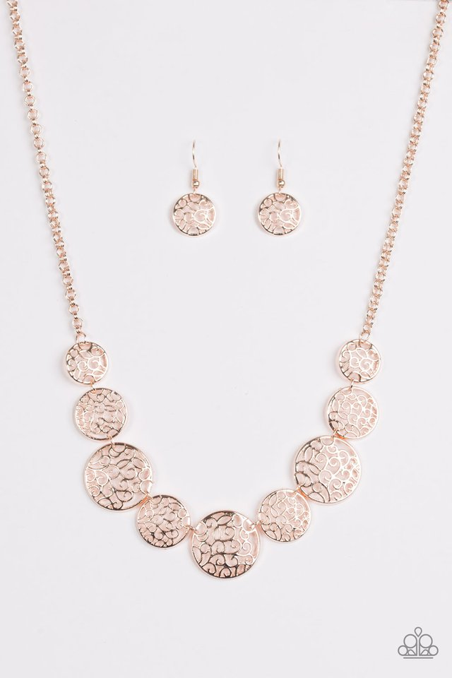 Paparazzi Accessories All The Time In The Whirl Rose Gold