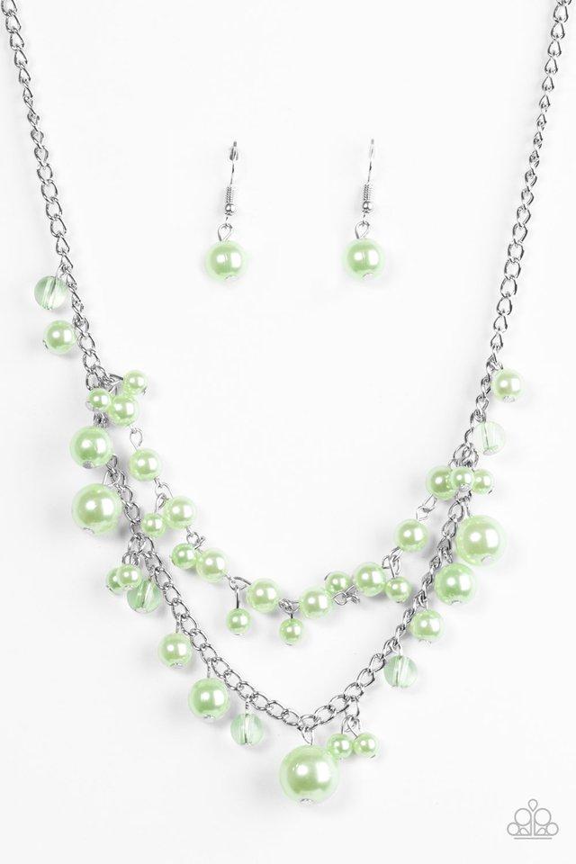 Blissfully Bridesmaid - Green - Paparazzi Necklace Image