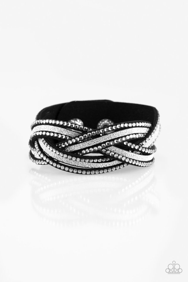 Girls Do It Better - Silver - Paparazzi Bracelet Image
