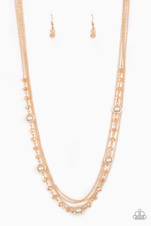 High Standards - Gold - Paparazzi Necklace Image