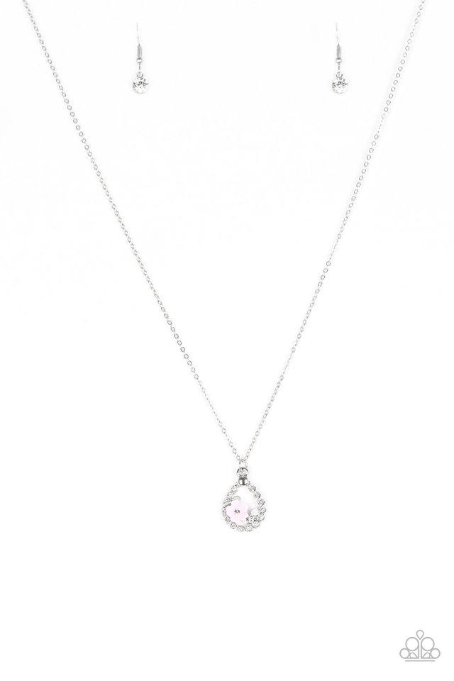Serene Spring Showers - Pink - Paparazzi Necklace Image