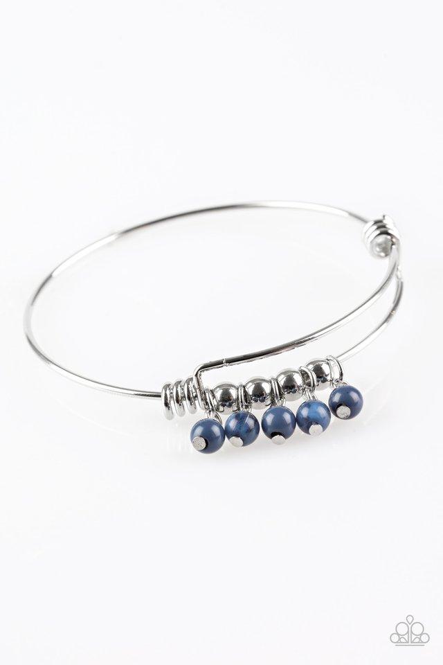 All Roads Lead To ROAM - Blue - Paparazzi Bracelet Image