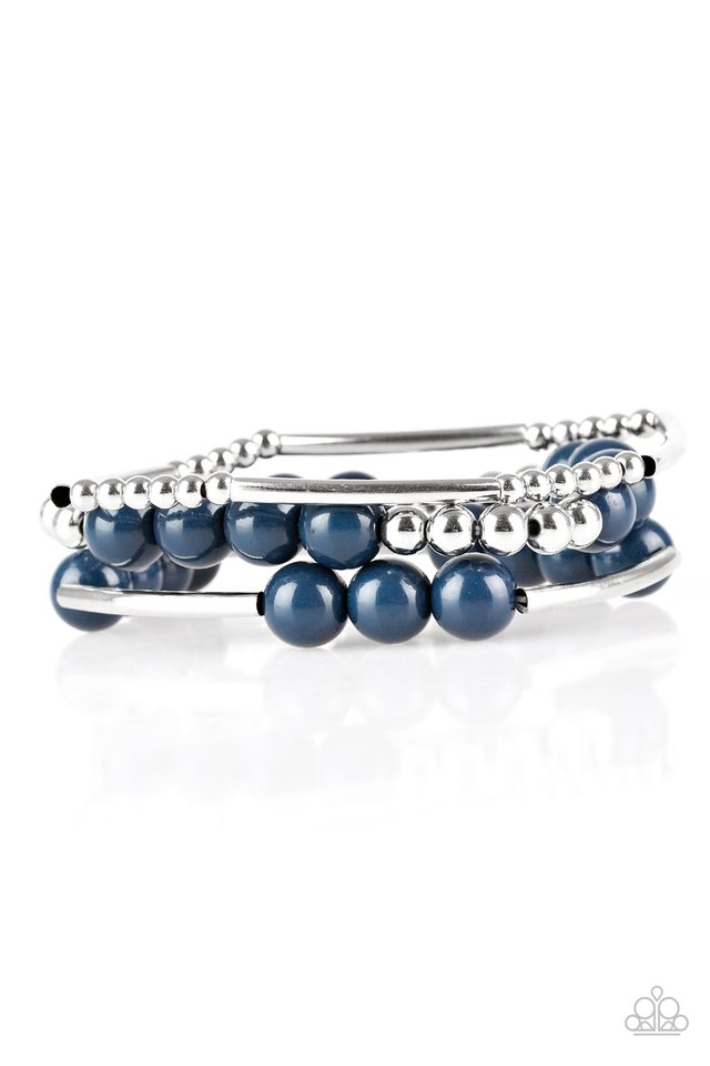 New Adventures - Blue - Paparazzi Bracelet Image