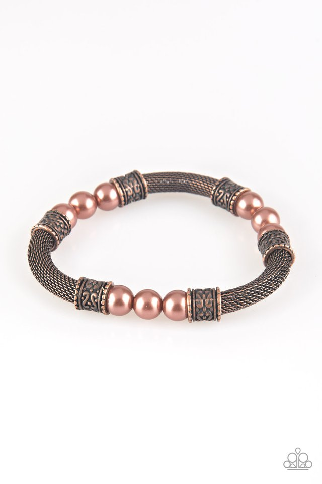Talk Some SENSEI - Copper - Paparazzi Bracelet Image
