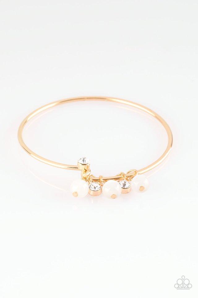 Marine Melody - Gold - Paparazzi Bracelet Image