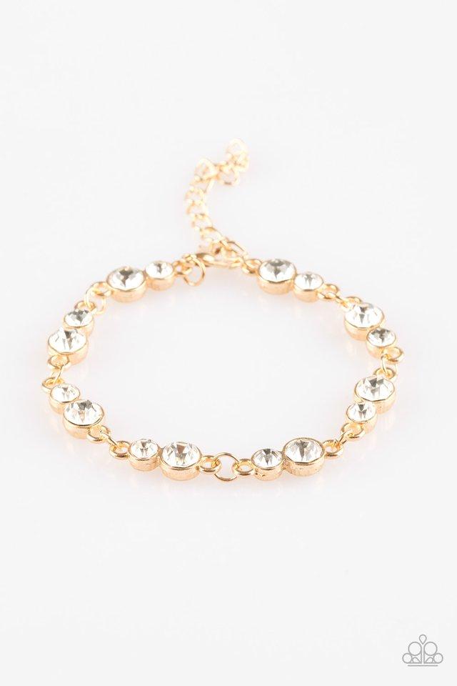 Twinkle Twinkle Little STARLET - Gold - Paparazzi Bracelet Image