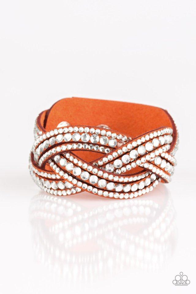 Bring On The Bling - Orange - Paparazzi Bracelet Image