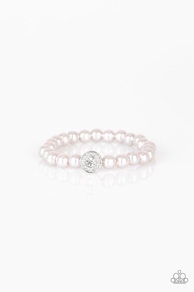 Follow My Lead - Silver - Paparazzi Bracelet Image