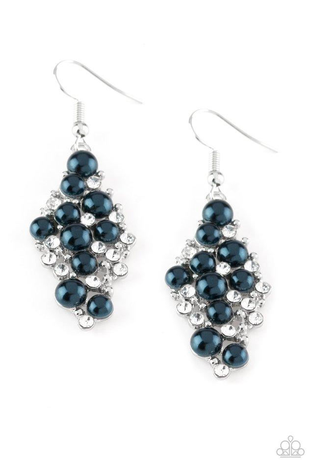 Famous Fashion - Blue - Paparazzi Earring Image