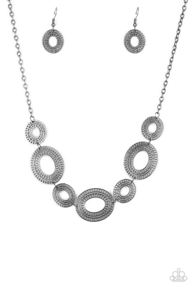 Basically Baltic - Black - Paparazzi Necklace Image