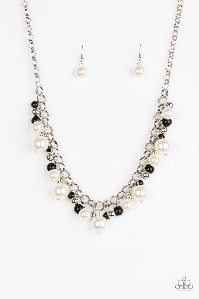 The Upstater - Black - Paparazzi Necklace Image