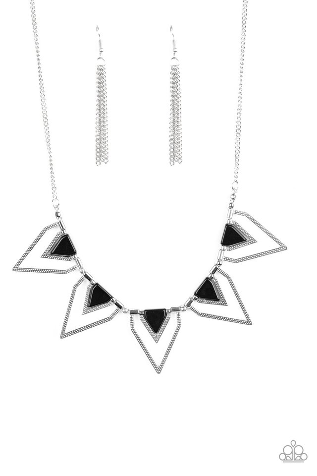 The Pack Leader - Black - Paparazzi Necklace Image