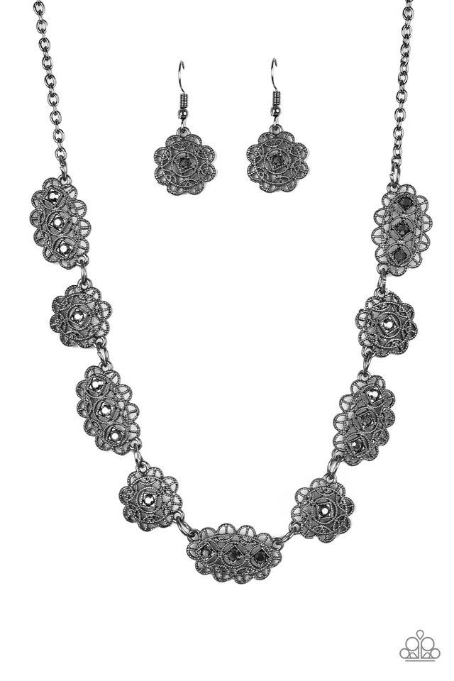 Vintage Vogue - Black - Paparazzi Necklace Image