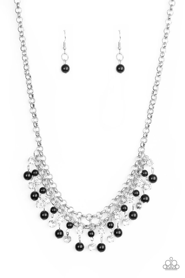 You May Kiss The Bride - Black - Paparazzi Necklace Image