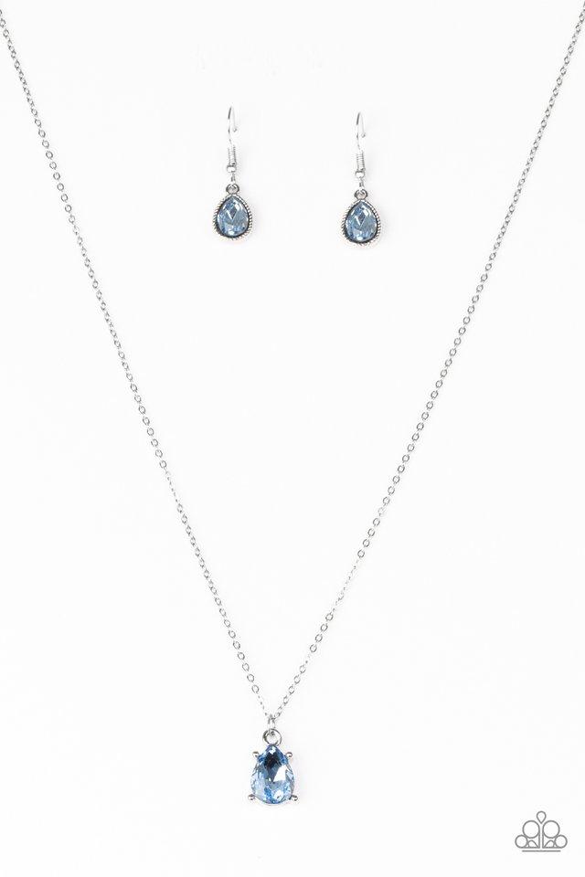 Classy Classicist - Blue - Paparazzi Necklace Image