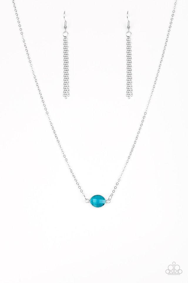 Fashionably Fantabulous - Blue - Paparazzi Necklace Image