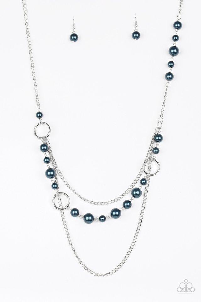 Party Dress Princess - Blue - Paparazzi Necklace Image