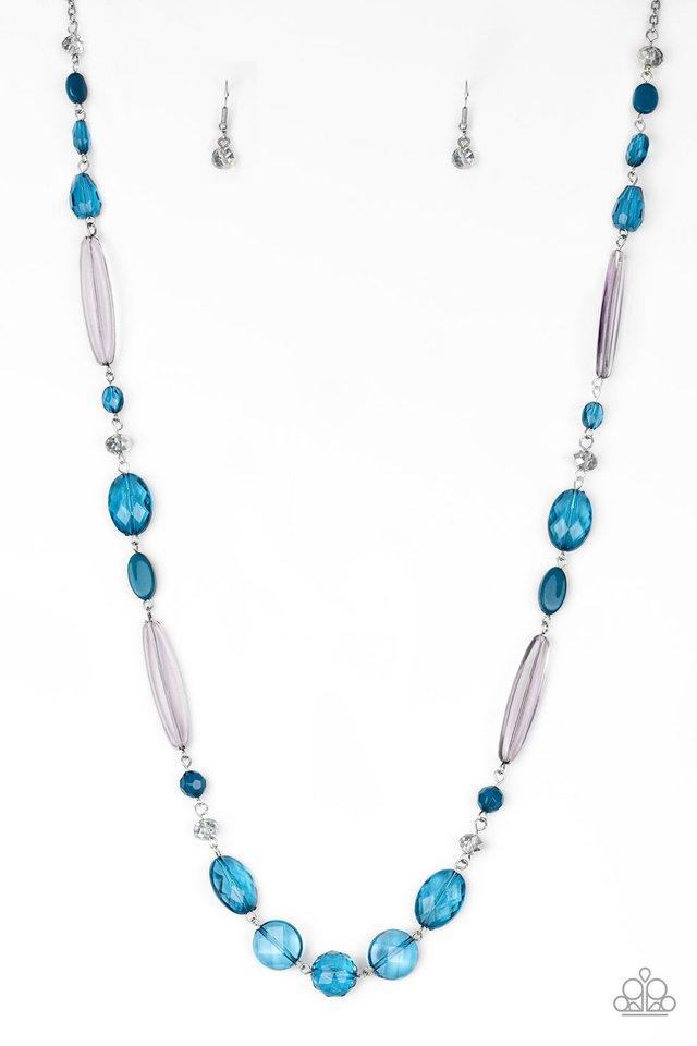 Quite Quintessence - Blue - Paparazzi Necklace Image