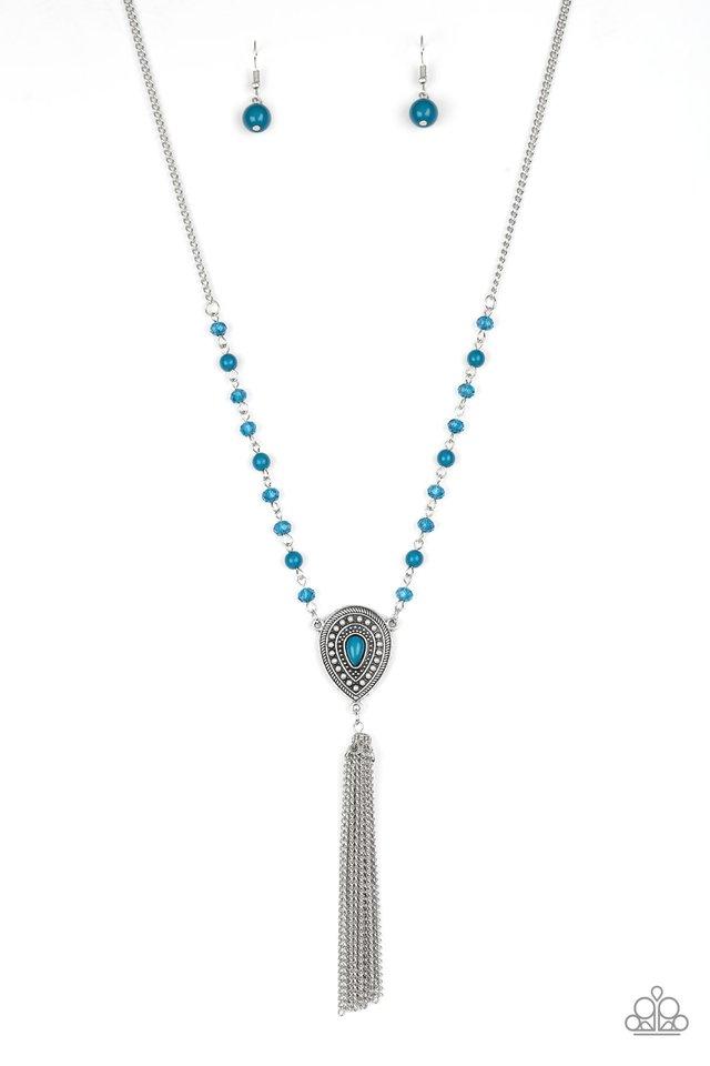 Soul Quest - Blue - Paparazzi Necklace Image