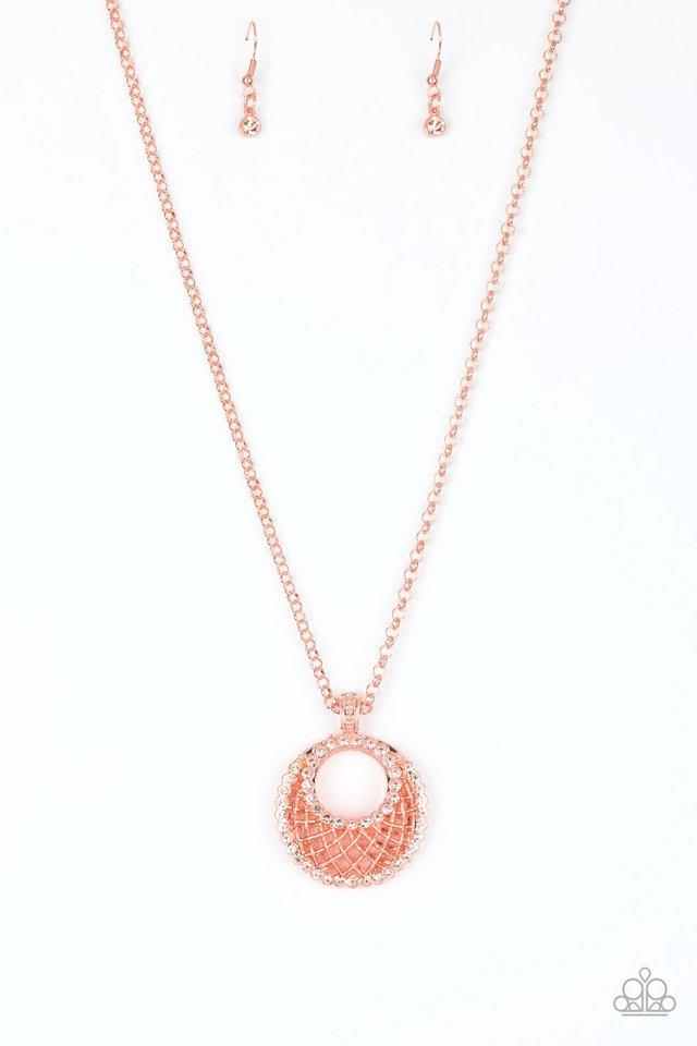 Net Worth - Copper - Paparazzi Necklace Image