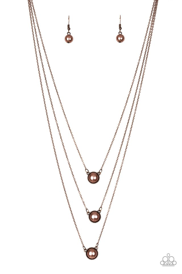 A Love For Luster - Copper - Paparazzi Necklace Image