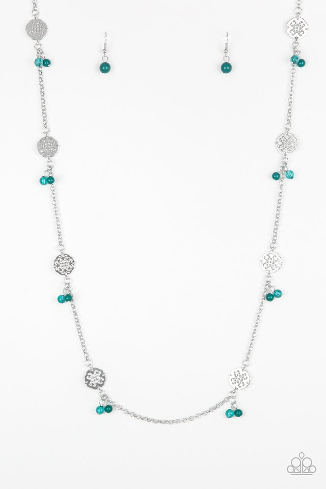 Color Boost - Green - Paparazzi Necklace Image