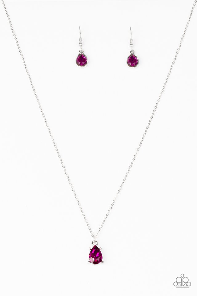 Classy Classicist - Pink - Paparazzi Necklace Image