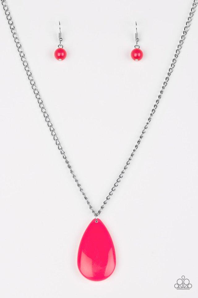 So Pop-YOU-lar - Pink - Paparazzi Necklace Image