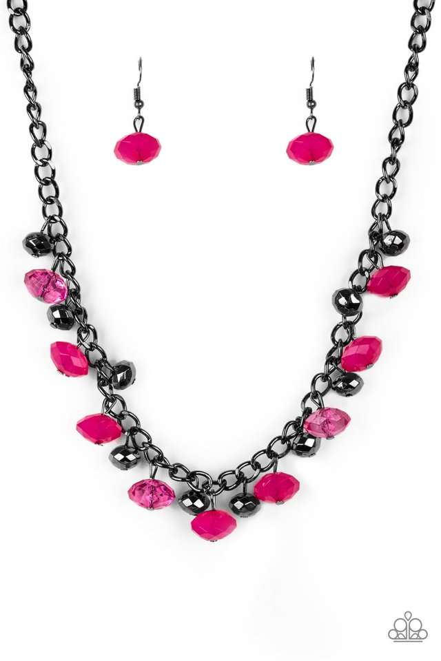 Runway Rebel - Pink - Paparazzi Necklace Image