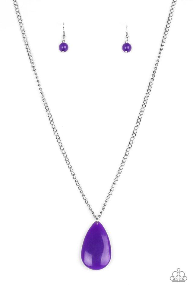 So Pop-YOU-lar - Purple - Paparazzi Necklace Image