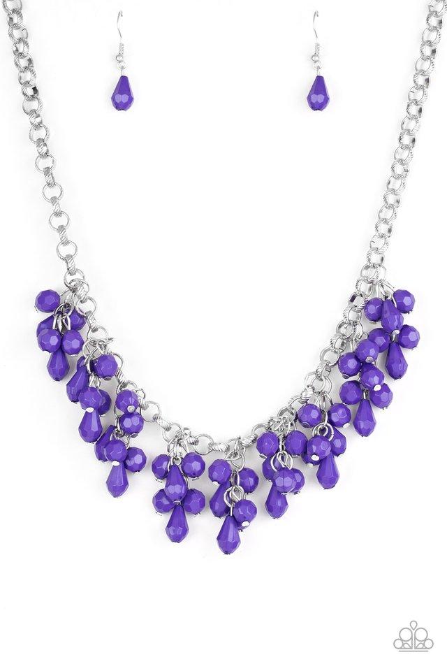 Modern Macarena - Purple - Paparazzi Necklace Image
