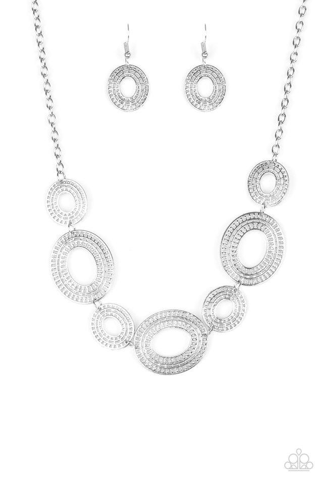 Basically Baltic - Silver - Paparazzi Necklace Image