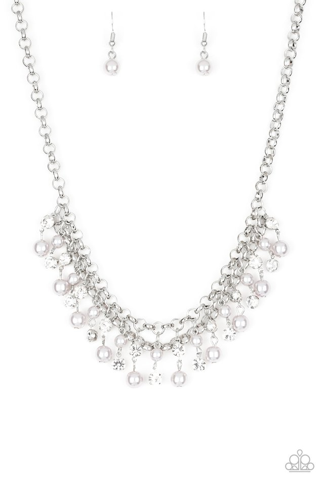 A Touch of CLASSY - Silver - Paparazzi Necklace Image