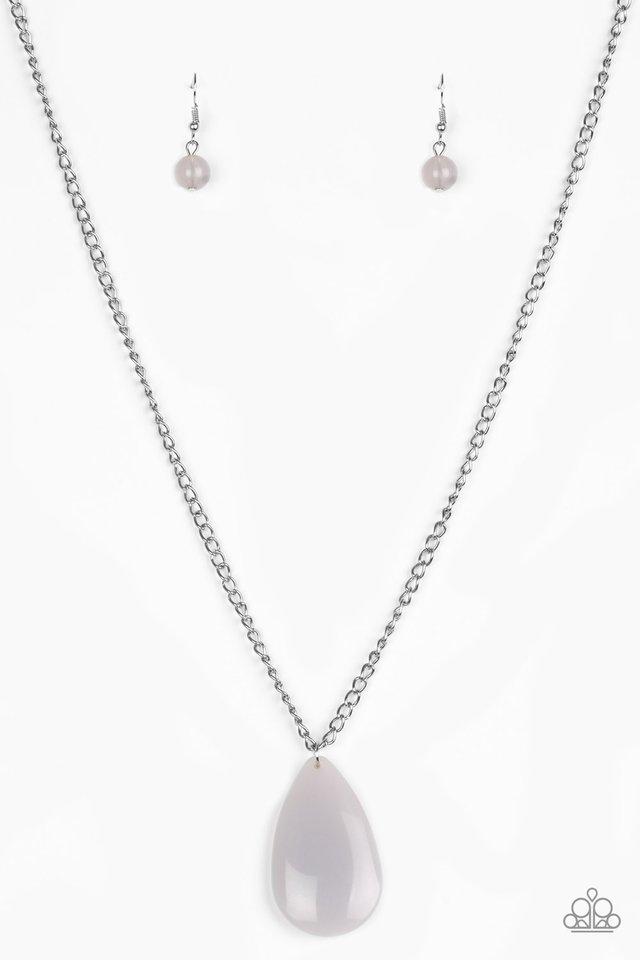 So Pop-YOU-lar - Silver - Paparazzi Necklace Image